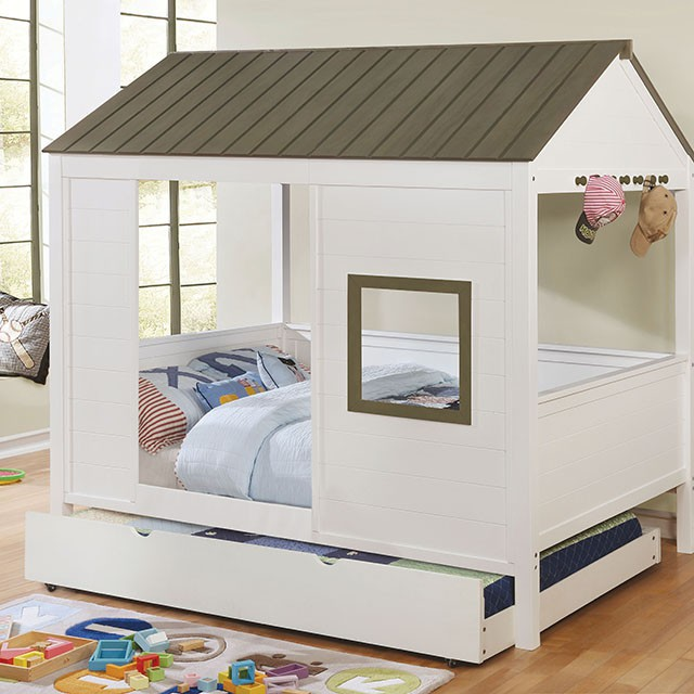 Cobin Full House bed with Trundle $1216