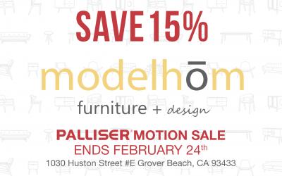Palliser Sale – Save 15% thru Feb 24th