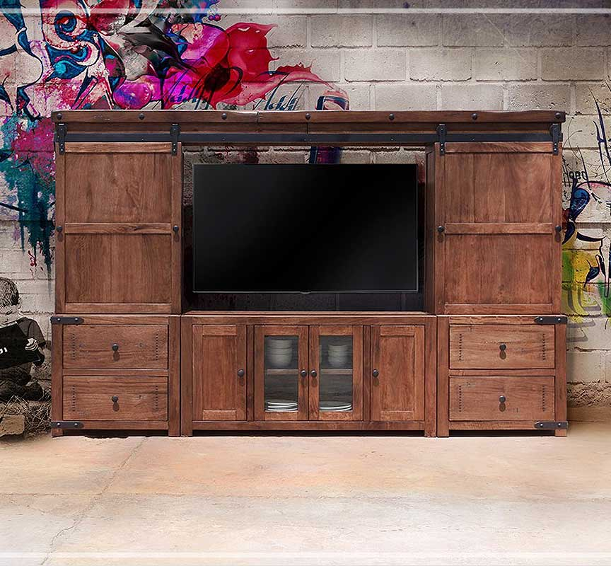 Barn Door Entertainment Centers Modelhom