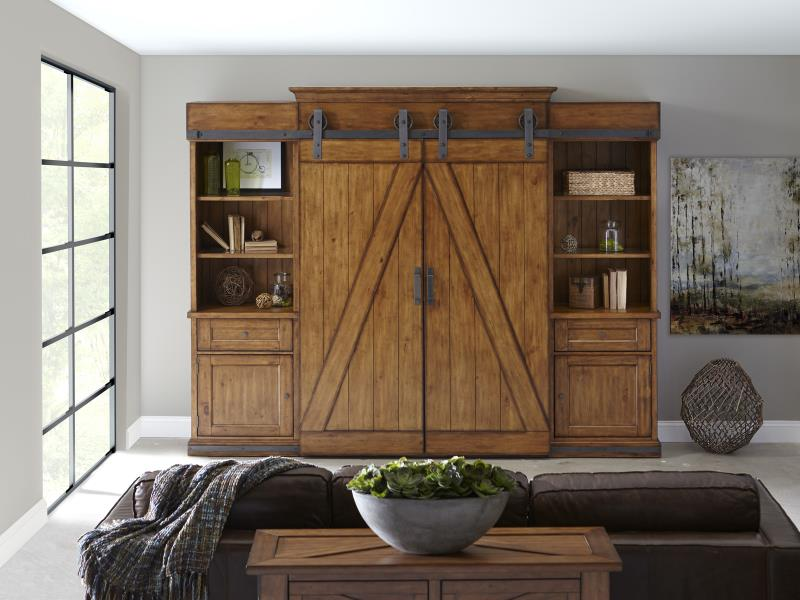 Barn Door Entertainment Centers